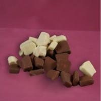 Baumkuchenspitzen 200g Tüte Vollmilch/ weiße Schokolade