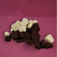 Baumkuchenspitzen 200g Tüte Zartbitter/ weiße Schokolade